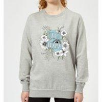 Barlena No Drama Women's Sweatshirt - Grey - XXL - Grey - Drama Gifts