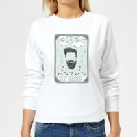 The Hipster Women's Sweatshirt - White - 5XL - White - Hipster Gifts