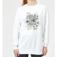 Barlena No Drama Women's Sweatshirt - White - XXL - White - Drama Gifts