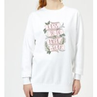 Barlena Less To-Do More Ta-Da Women's Sweatshirt - White - M - White