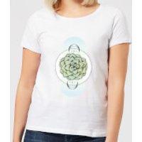 Barlena Sempervivum Women's T-Shirt - White - L - White