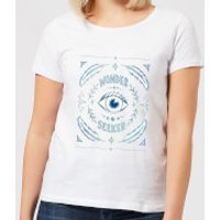 Barlena Wonder Seeker Women's T-Shirt - White - S - White