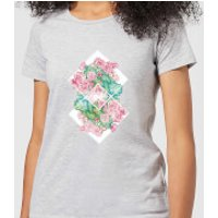 Barlena Flowers Women's T-Shirt - Grey - XS - Grey