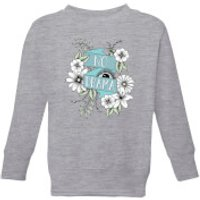 Barlena No Drama Kids' Sweatshirt - Grey - 7-8 Years - Grey - Drama Gifts