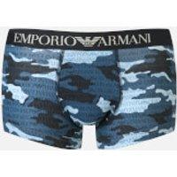 Emporio Armani Men's Trunk Boxer Shorts - Blue - XL - Blue
