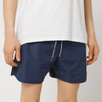 Emporio Armani Men's Colourblock Swim Shorts - Navy - EU 48/S - Navy