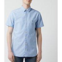 BOSS Hugo Boss Men's Magenton Shirt - Sky Blue - M - Blue