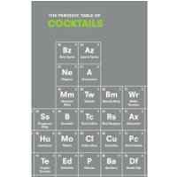 The Periodic Table of Cocktails - Cocktails Gifts