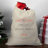 Christmas Delivery Service for Girls Christmas Santa Sack - Eva