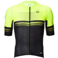 Ale Graphics PRR Slide Jersey - L - Black/Fluo Yellow