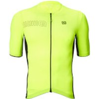 Ale Solid Block Jersey - XL - Black/Fluo Yellow