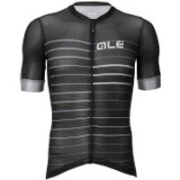 Ale Solid Ergo Jersey - L - Black/Grey