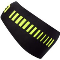 Ale Strada Headband - Black/Fluo Yellow