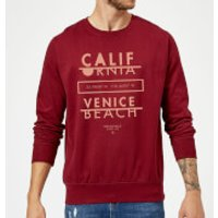 Venice Beach Sweatshirt - Burgundy - L - Burgundy