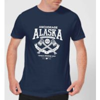 Alaska Men's T-Shirt - Navy - XXL - Navy