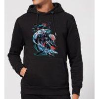 Aquaman Black Manta & Ocean Master Hoodie - Black - S - Black