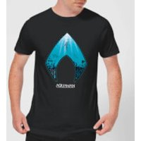 Aquaman Deep Men's T-Shirt - Black - S - Black
