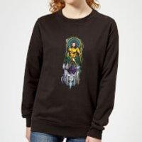 Aquaman and Ocean Master Women's Sweatshirt - Black - XXL - Black