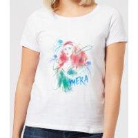 Aquaman Mera Women's T-Shirt - White - S - White