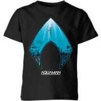 Aquaman Deep Kids' T-Shirt - Black - 3-4 Years - Black