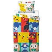 Pokémon Characters Single Rotary Duvet Cover Set