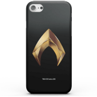 Aquaman Gold Logo Phone Case for iPhone and Android - iPhone X - Tough Case - Gloss