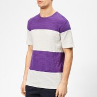 YMC Men's Baja T-Shirt - Cream/Purple - M - Cream