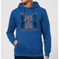 Fantastic Beasts Pick A Side Hoodie - Royal Blue - S - Royal Blue