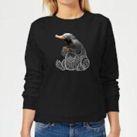 Fantastic Beasts Tribal Niffler Women's Sweatshirt - Black - XS - Black