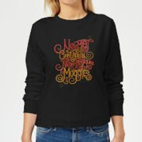 Fantastic Beasts No-Maj Women's Sweatshirt - Black - M - Black