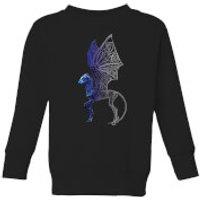 Fantastic Beasts Tribal Thestral Kids' Sweatshirt - Black - 7-8 Years - Black