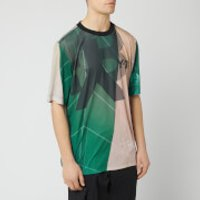 Y-3 Men's All Over Print Football Shirt - Sail Salty Champagne - S - White