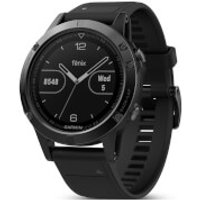 Garmin Fenix 5 Sapphire GPS Watch - Black/Black Band