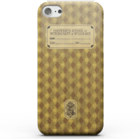 Harry Potter Hufflepuff Text Book Phone Case for iPhone and Android - iPhone X - Tough Case - Gloss