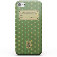 Harry Potter Slytherin Text Book Phone Case for iPhone and Android - iPhone 6S - Tough Case - Gloss