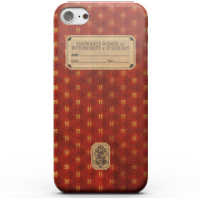 Harry Potter Gryffindor Text Book Phone Case for iPhone and Android - Samsung S7 - Snap Case - Matte