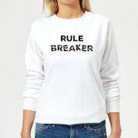 Rule Breaker Women's Sweatshirt - White - XS - White