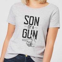 Son Of A Gun Women's T-Shirt - Grey - 5XL - Grey - Son Gifts