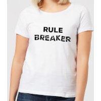 Rule Breaker Women's T-Shirt - White - XXL - White