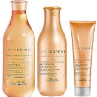 L'Oreal Professionnel Serie Expert Nutrifier Shampoo, Conditioner and Creme Trio