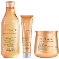 L'Oreal Professionnel Serie Expert Nutrifier Shampoo, Masque and Creme Trio