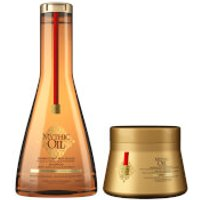 L'Oreal Professionnel Mythic Oil Shampoo and Masque for Thick Hair Duo