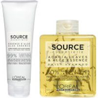 L'Oreal Professionnel Source Essentielle Daily Shampoo and Detangling Hair Cream Duo