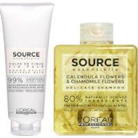 L'Oreal Professionnel Source Essentielle Sensitive Scalp Shampoo and Hair Balm Duo