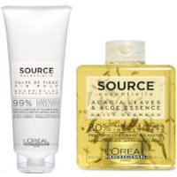 L'Oreal Professionnel Source Essentielle Daily Shampoo and Hair Balm Duo