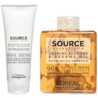 L'Oreal Professionnel Source Essentielle Dry Hair Shampoo and Hair Cream Duo