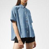 Levi's Women's Maxine Shirt - Light Mid Wash - XS - Blue