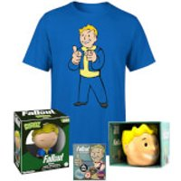 Fallout Vault Boy Gifting Bundle - Men's - L - Royal Blue