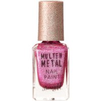 Barry M Cosmetics Molten Metal Nail Paint (Various Shades) - Fuchsia Kiss