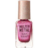 Barry M Cosmetics Molten Metal Nail Paint (Various Shades) - Fuchsia Kiss